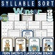 Winter and Summer Syllable Sort Center Games Bundle