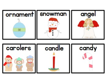 Syllable Sort (Christmas Edition) FREEBIE