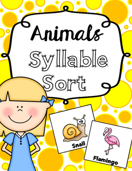 Syllable Sort *Easy on your ink!*