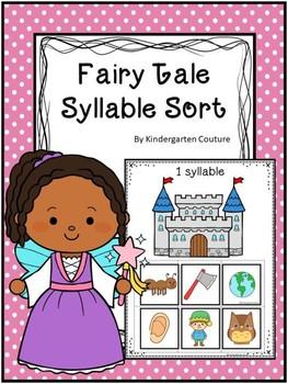 Syllable Sort Fairy Tale Theme
