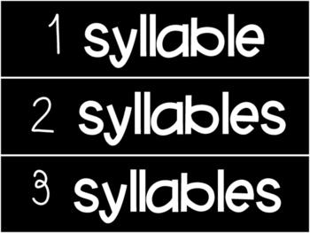 Syllable Sort (RF.K.2)