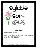 Syllable Sort Station