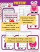 St Valentine's Day Syllable Sort Center Games