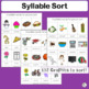 Syllable Sort complements programs like Jolly Phonics.