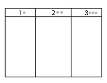 Bilingual Syllable Sort Trifold