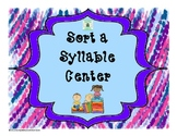 Syllable Sorters
