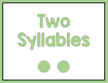 Syllable Sorting Activity