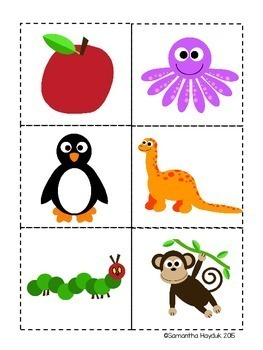 Syllables Sorting Activity and Matching Game