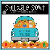 Syllable Sorting Center for Fall