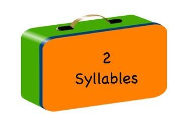 Syllable Sorting- Fun Food Theme