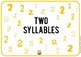 Syllable Sorting Mats