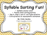 Syllable Sorting