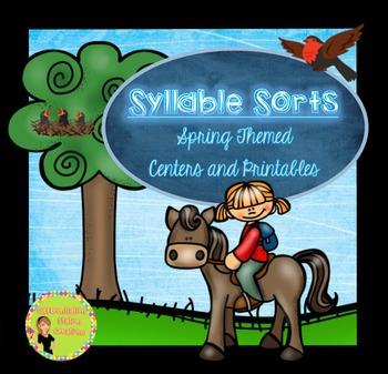 Syllable Sorts: Spring