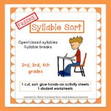 FREEBIE Syllable Sorts