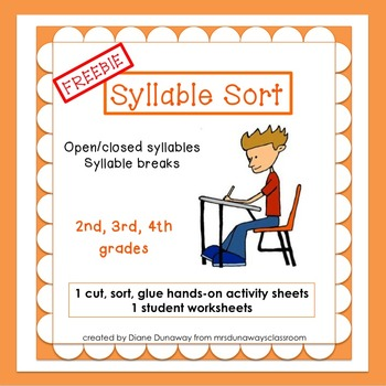 FREEBIE Syllable Sorts