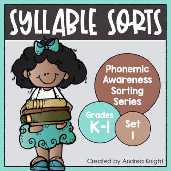 Syllable Sorts {Phonemic Awareness Sorting Series, Set #1}