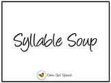 Syllable Soup: A Syllable Segmentation Activity