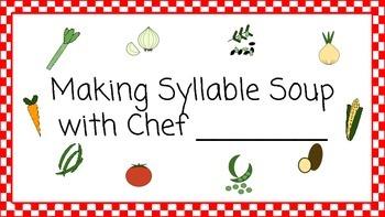 Syllable Soup Cook Book