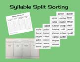 Syllable Split Sorting