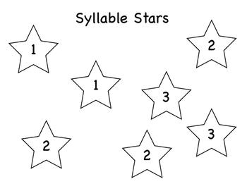 Syllable Stars Game