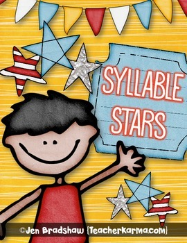 Syllable Stars Games for Reading, Understanding, and Count