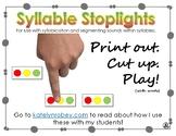 Syllable Stoplights - Phonemic Awareness through Syllabication