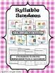 Syllable Sundaes- Blending & Segmenting Syllables