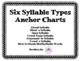 Syllable Type Anchor Charts