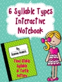Syllable Type Interactive Notebook- Final Stable Syllables