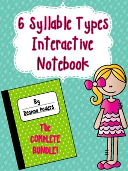 Syllable Type Interactive Notebook- THE BUNDLE