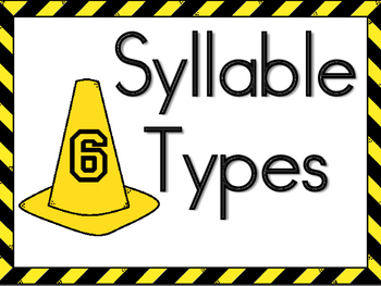 Syllable Type Posters