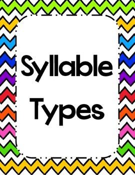 Syllable Types
