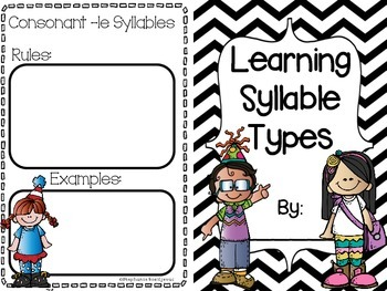 Syllable Types Bundle (Games and Activities for all 6 Syllable Types)