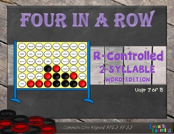 Syllable Types: R Controlled 2-Syllable Words