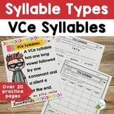 Syllable Types: VCe Multisensory Orton-Gillingham Activiti