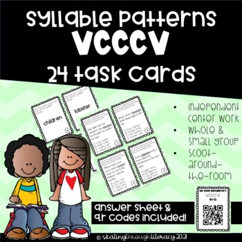 Syllable VCCCV Task Cards