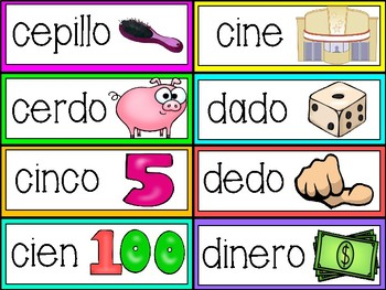 Syllable Word Wall Cards