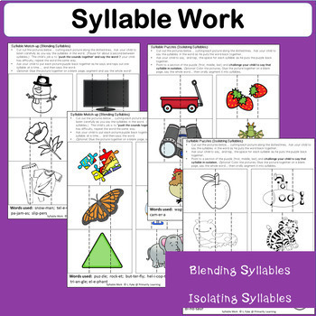 Syllable WORK complements programs like Jolly Phonics.