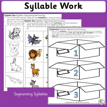 Syllable Work complements programs like Jolly Phonics. (SASSOON)