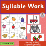 Syllable Worksheets | SASSOON Font