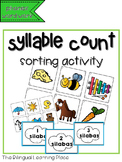 Syllable count- Spanish phonics activity