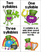 Syllable sort / cut and paste
