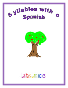 Syllable o cards
