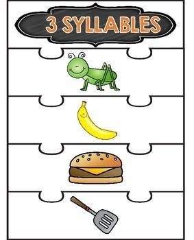 Syllables Puzzles