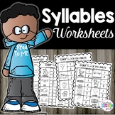 Syllables Worksheets | Grammar Review