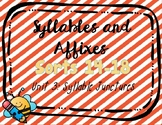 Syllables & Affixes, Unit 3 Dig. Sorts (PPT & Google Slides) Syllable Junctures