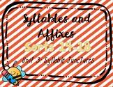 Syllables & Affixes, Unit 3 Dig. Sorts (PPT & Google Slide