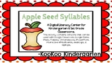 Syllables (Apple Seed Syllables)-A Digital Literacy Center