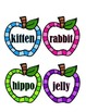 Syllables - Apples