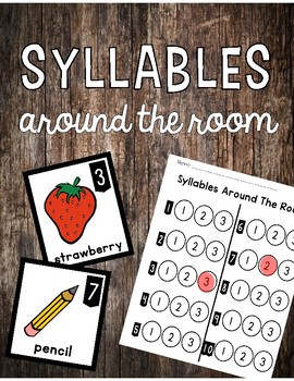 Syllables Around The Room